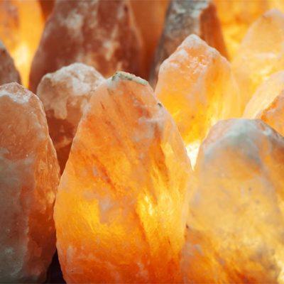 Salt Crystal Lamps