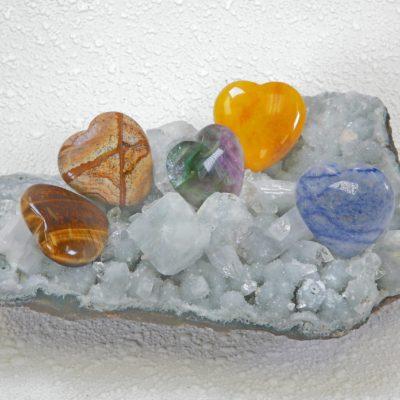 Gem Stone Hearts