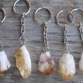 Gem Stone Key chains & Magnets